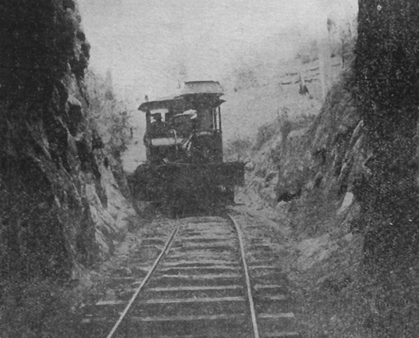 From The Archives: Lahey's Canungra Tramway Tunnel
