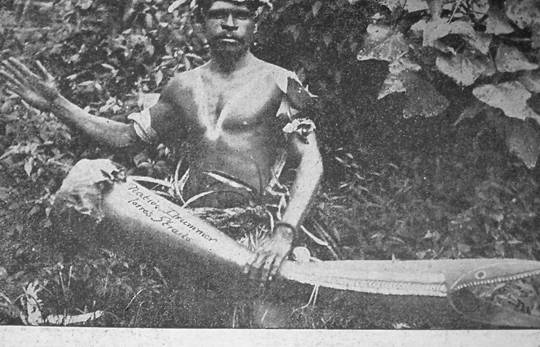 From The Archives: Torres Strait Island Drummer