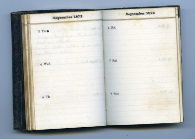 No. 46 Sep 3 to Sep 8 1872 Blank to Sep 14