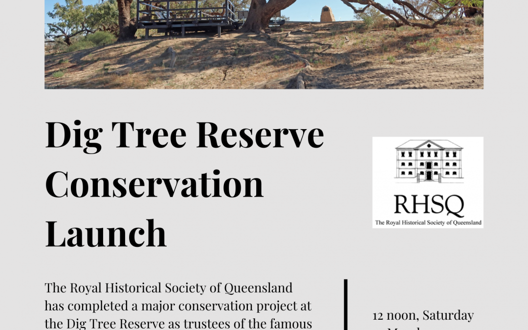 Dig Tree Conservation Launch