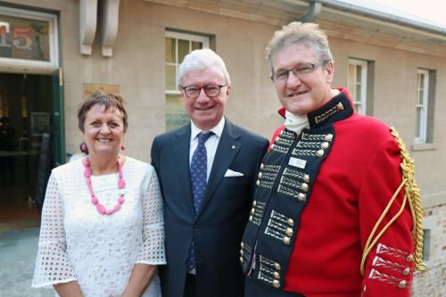 Glenda Sheaffe, His Excellency Paul de Jersey, Stephen Sheaffe